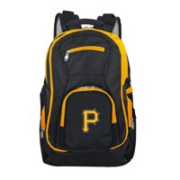 MLB Pittsburgh Pirates Premium Laptop Backpack with Colored Trim