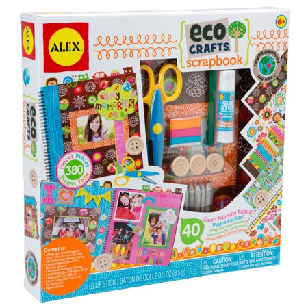 ALEX Toys Craft Eco Crafts - Scrapbook Pages