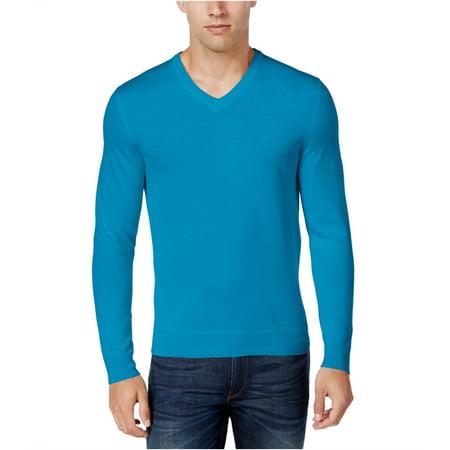 Merino Blend V-neck Sweater (Club Room Mens Merino Blend Pullover)