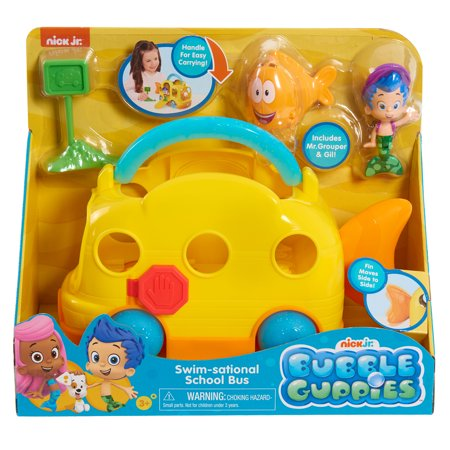 Bubble Guppies School Bus