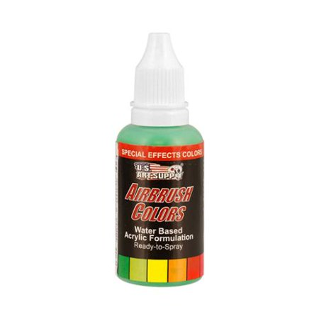 Green Special Effects (US Art Supply 1-Ounce Special Effects Green Pearl Airbrush Paint)