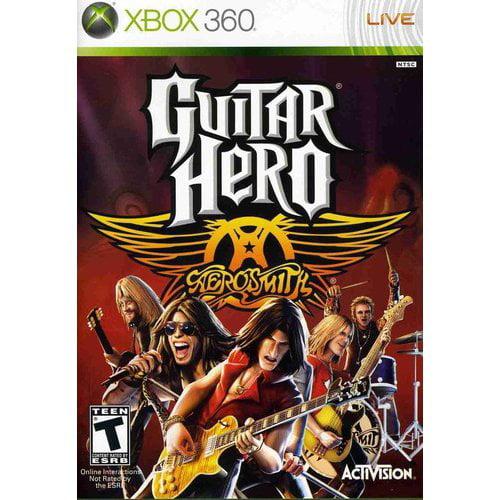 Guitar Hero Aerosmith - Game Only (Xbox 360)