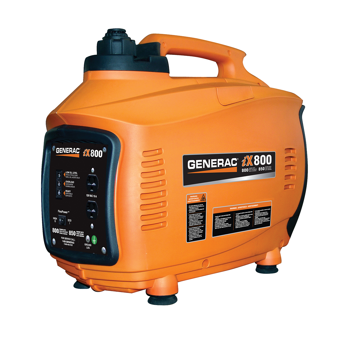 5791- 800 Watt Inverter Portable Generator, 50 State/CARB/CETL