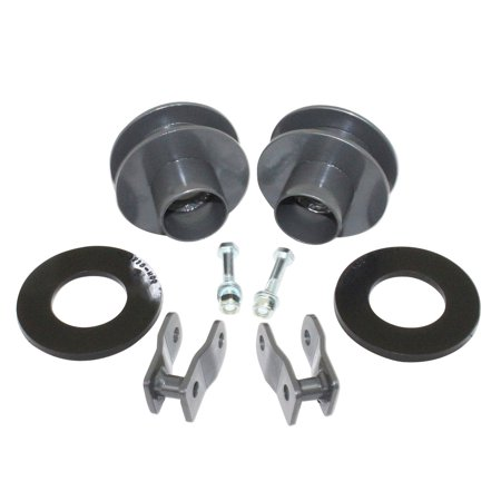 MaxTrac Suspension 883725 Coil Spring Spacer Leveling Kit; 2.5 in. Lift w/Shock Ext.; 2' Coil Spring Spacer Lift