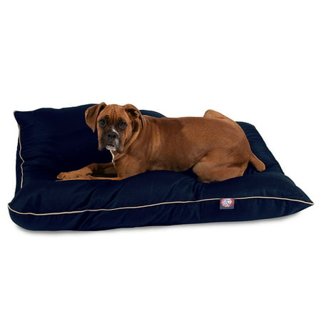Majestic Pet Super Value Machine Washable Pet Dog Bed, Large, Blue
