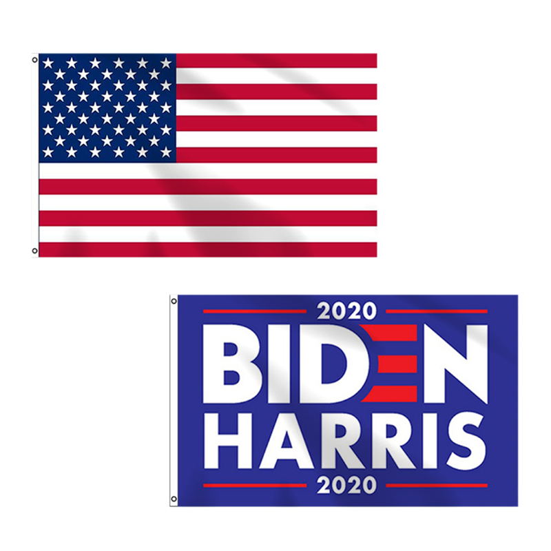 2pcs 3x5 Feet Joe Biden Harris 2020 Flag Biden Yard Sign Vivid Color With Two Brass Grommets Banner Walmart Com Walmart Com