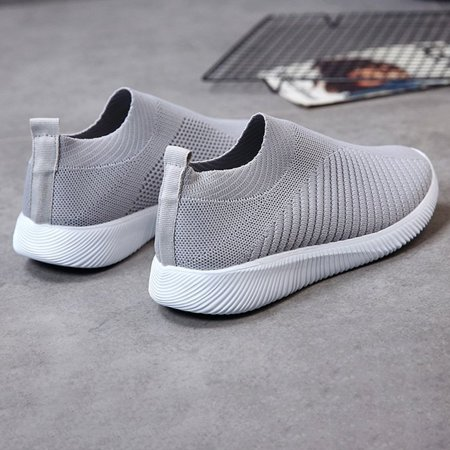 Women's Casual Running Walking Tennis Outdoor Shoes Lightweight Athletic Gym Slip on Sneakers