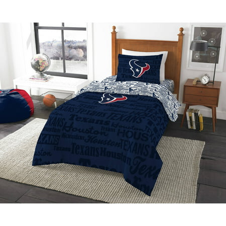 Houston Texans Sports Bed - NFL Houston Texans Bed in a Bag Complete Bedding Set