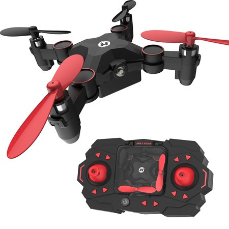 Holy Stone HS190 Foldable Mini Nano RC Drone for Kids Gift Portable Pocket Quadcopter with Altitude Hold 3D Flips and Headless