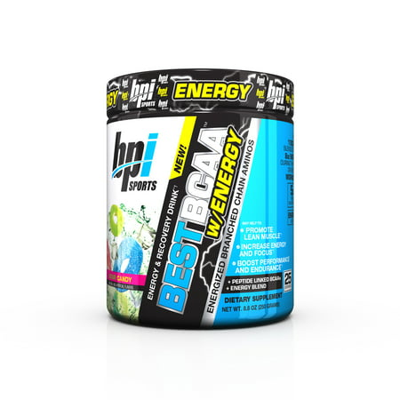 BPI Sports Best BCAA W/ Energy Pre Workout Sour Candy, 25
