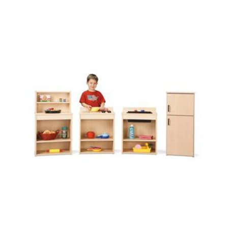 Jonti-Craft Young Time Play Kitchen Set - Set of 4