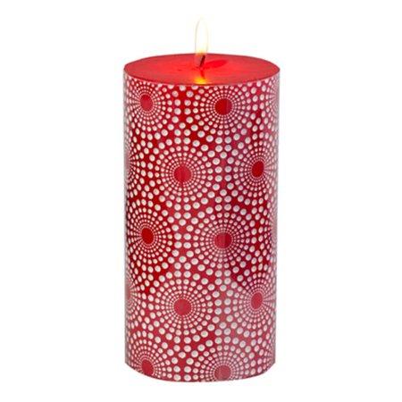 Biedermann & Sons C203 Red Metallic Ornamental Pillar, Pack of 4 - image 1 of 1