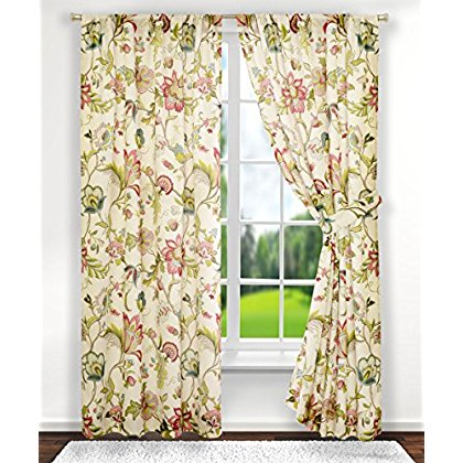 Ellis Curtain Brissac Tailored Curtain Panels (Set of 2)