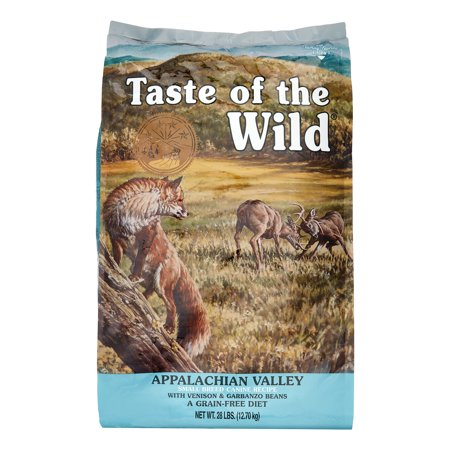 Taste of the Wild Appalachian Valley Small Breed Grain-Free Dry Dog Food, 28 (Best Senior Dog Food Small Breeds)