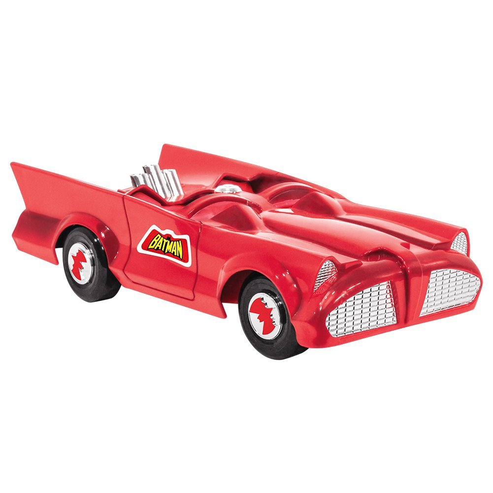 DC Comics Retro Batman Batmobile Playset (Red)