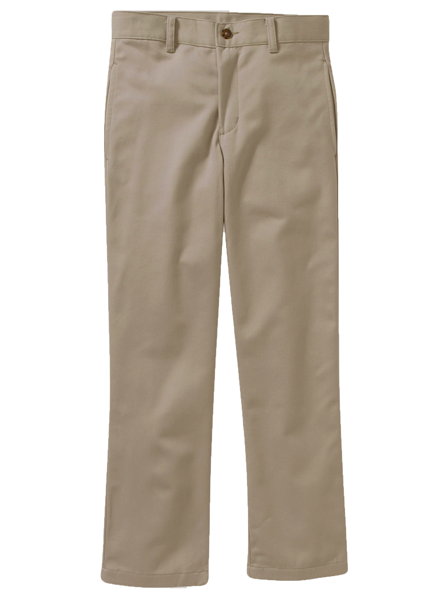 Boys Flat Front Twill Pant With Scotchguard