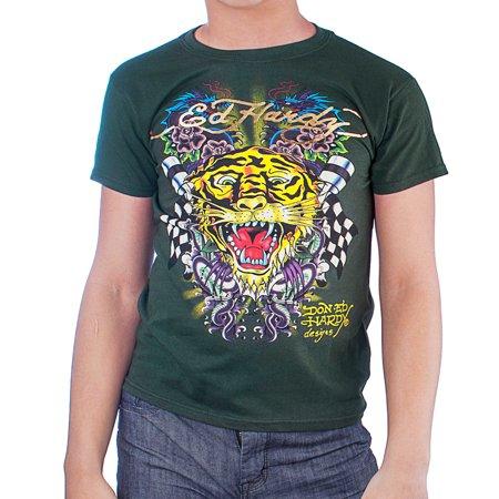 a7e2b3aa Ed Hardy - Ed Hardy Kids Boys Tiger Tee Shirt - Walmart.com
