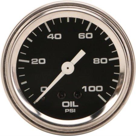 Mechanical Oil Pressure Gauge - Mechanical Oil Pressure Gauge, 2-1/16 Inch, Black
