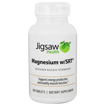 Jigsaw Health - Magnesium w/SRT - 240 Tablets