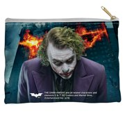 Dark Knight Trilogy Agent Of Chaos Accessory Pouch White 8.5X6