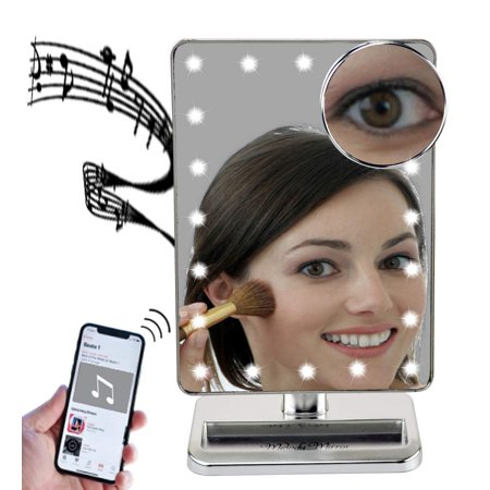Melody Mirror Lighted Vanity Mirror With Bluetooth