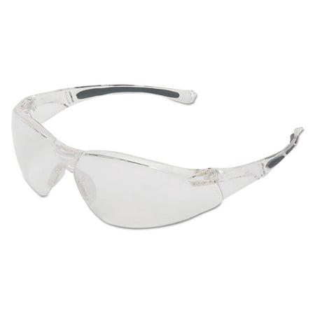 Honeywell A800 Series Safety Eyewear, Clear Frame, Clear Lens