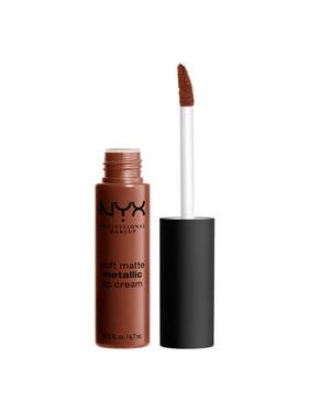 NYX Professional Makeup Soft Matte Metallic Lip Cream, Dubai