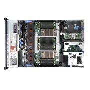 Dell PowerEdge R820 Server, 4x Xeon E5-4650 2 7GHz 8-Core Processors, 128GB  DDR3 Memory, 16x 3 5