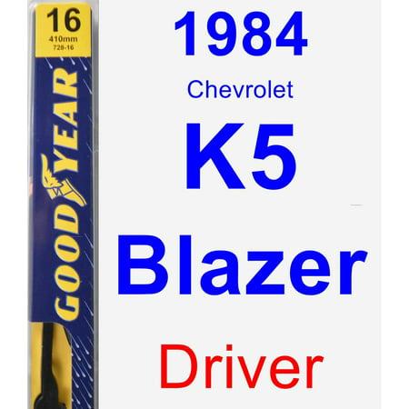 - 1984 Chevrolet K5 Blazer Driver Wiper Blade - Premium