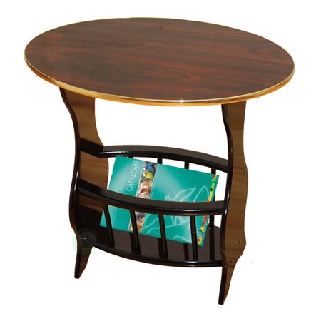 Uniquewise oval end table for 12 wide bedside table
