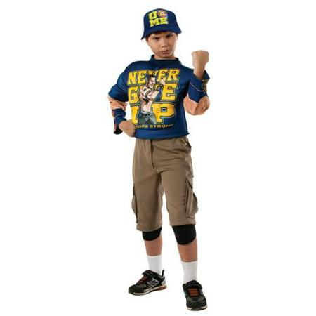 WWE Deluxe Muscle-Chest John Cena Costume (John Deere Tractor Costume)