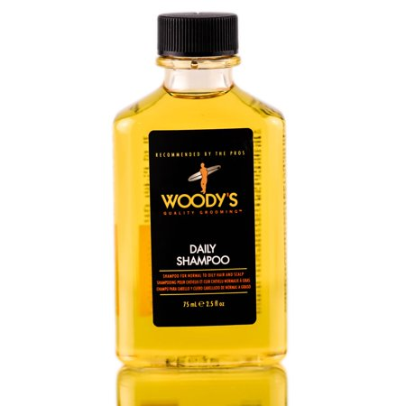 Woody's Quality Grooming Daily Shampoo - For Men - Size : 2.5 -