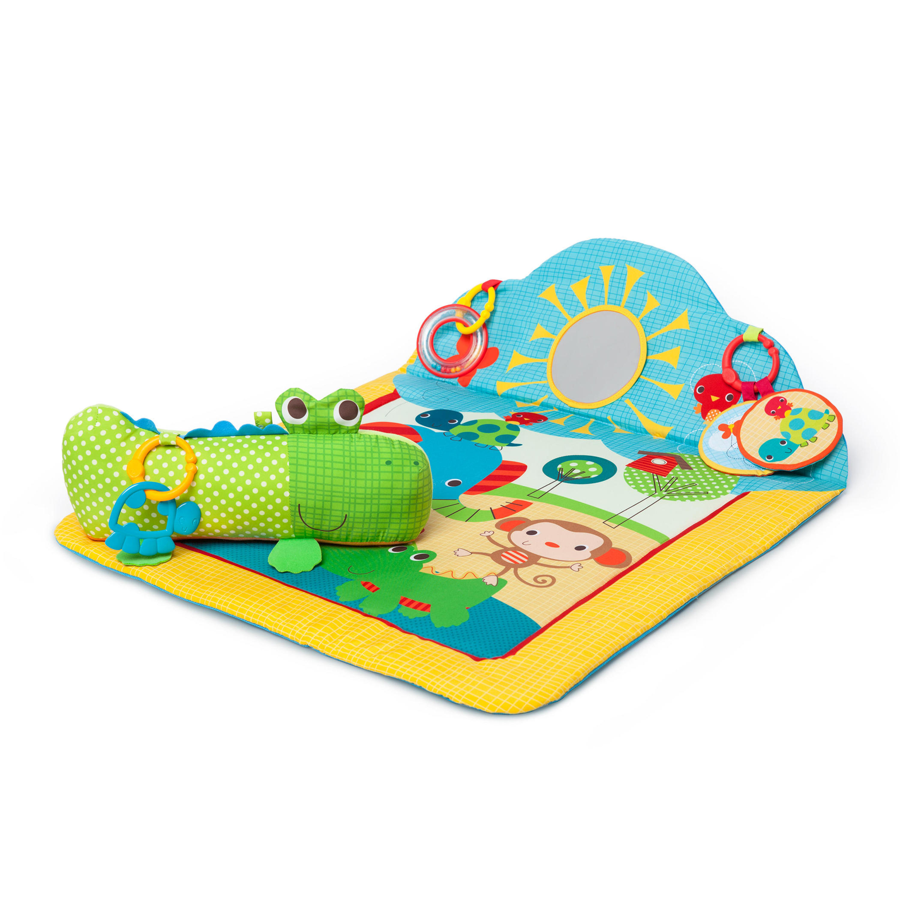 Bright Starts Cuddly Crocodile Play Mat by Bright Starts