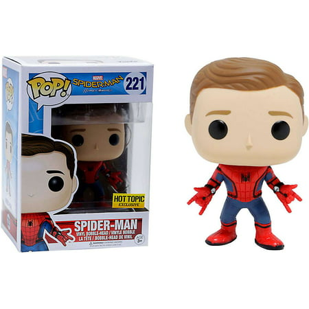 Funko POP! Marvel Spider-Man Vinyl Bobble Head [UNMASKED]