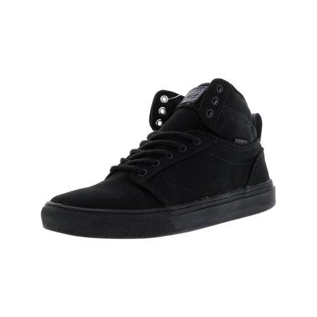 f3e1c6d6c3 Vans Alomar Heavy Canvas Black   High-Top Skateboarding Shoe - 8.5M 7M ...
