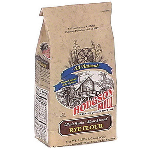 Hodgson Mill Old Fashioned Rye Flour, 32 oz (Pack of 6)