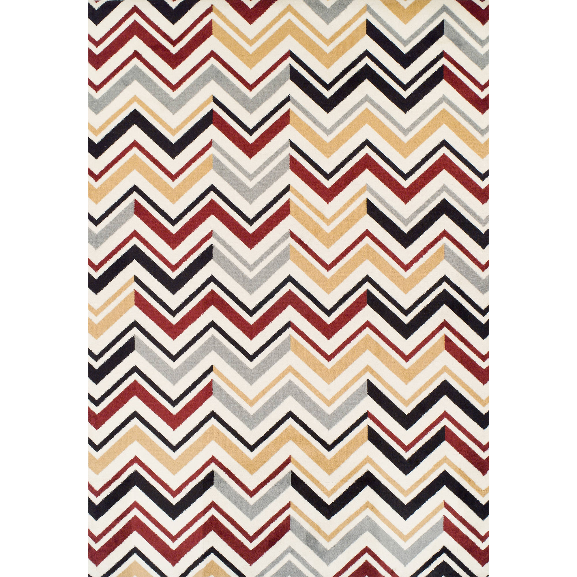 Ferrera Collection Area Rug, Chevron