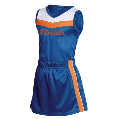 Diy Russell Up Costume (Girls Toddler Russell Athletic Royal Florida Gators 3-Piece Cheer)