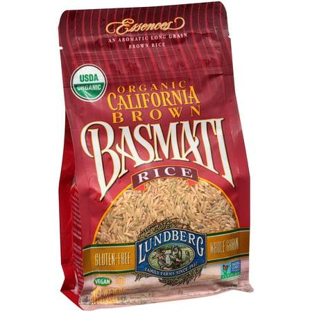 Lundberg Family Farms Organic California Brown Basmati Rice  16 Oz