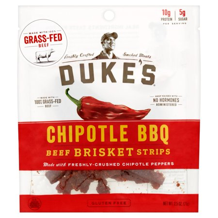 - Dukes Strips Beef Chipotle Bbq,2.5 Oz (Pack Of 8)