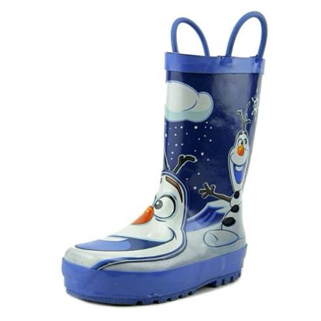 Western Chief Disney Frozen Olaf   Round Toe Synthetic  Rain Boot (Frozen Boots)