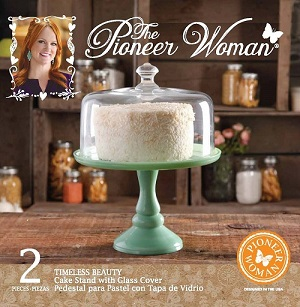 The Pioneer Woman Pioneer Wmn 10in Jade Cake Stand