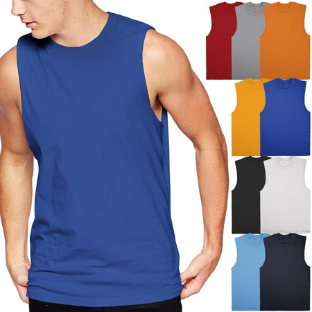 Ma Croix Men's Muscle Tank Top Sleeveless Tee Shirts