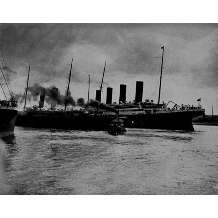 Stretched Canvas Art - Brown Bros Truth about the Titanic 1913 ...