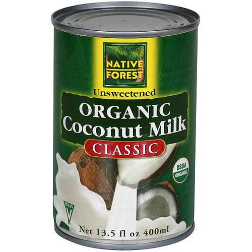 Native Forest Organic Coconut Milk, 13.5 fl.oz (Pack of 12)