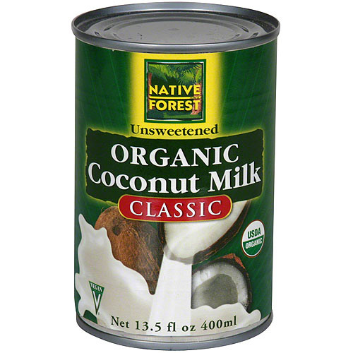 Native Forest Organic Coconut Milk, 13.5 fl.oz (Pack of 12)