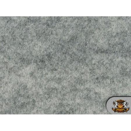 Heather Leaf Fabric (Acrylic Felt Fabric HEATHER GREY / 72