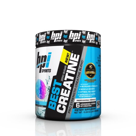 BPI Sports Best Creatine Powder, Snow Cone, 50