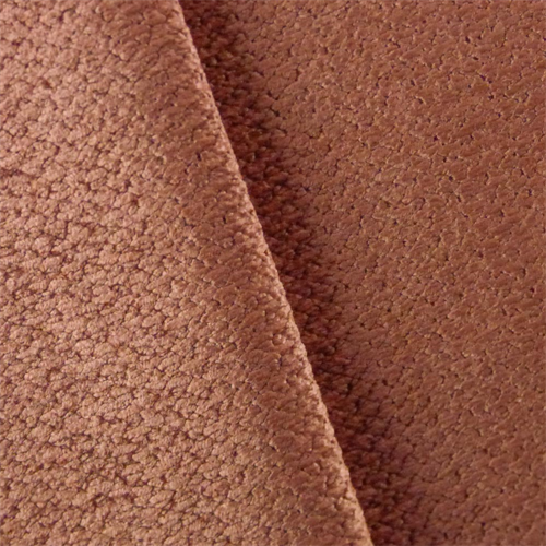 Rose Pink Chenille Upholstery Fabric, Fabric By the Yard