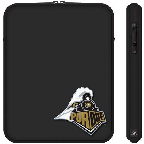 "Centon 10"" Classic Black Tablet Sleeve Purdue University"